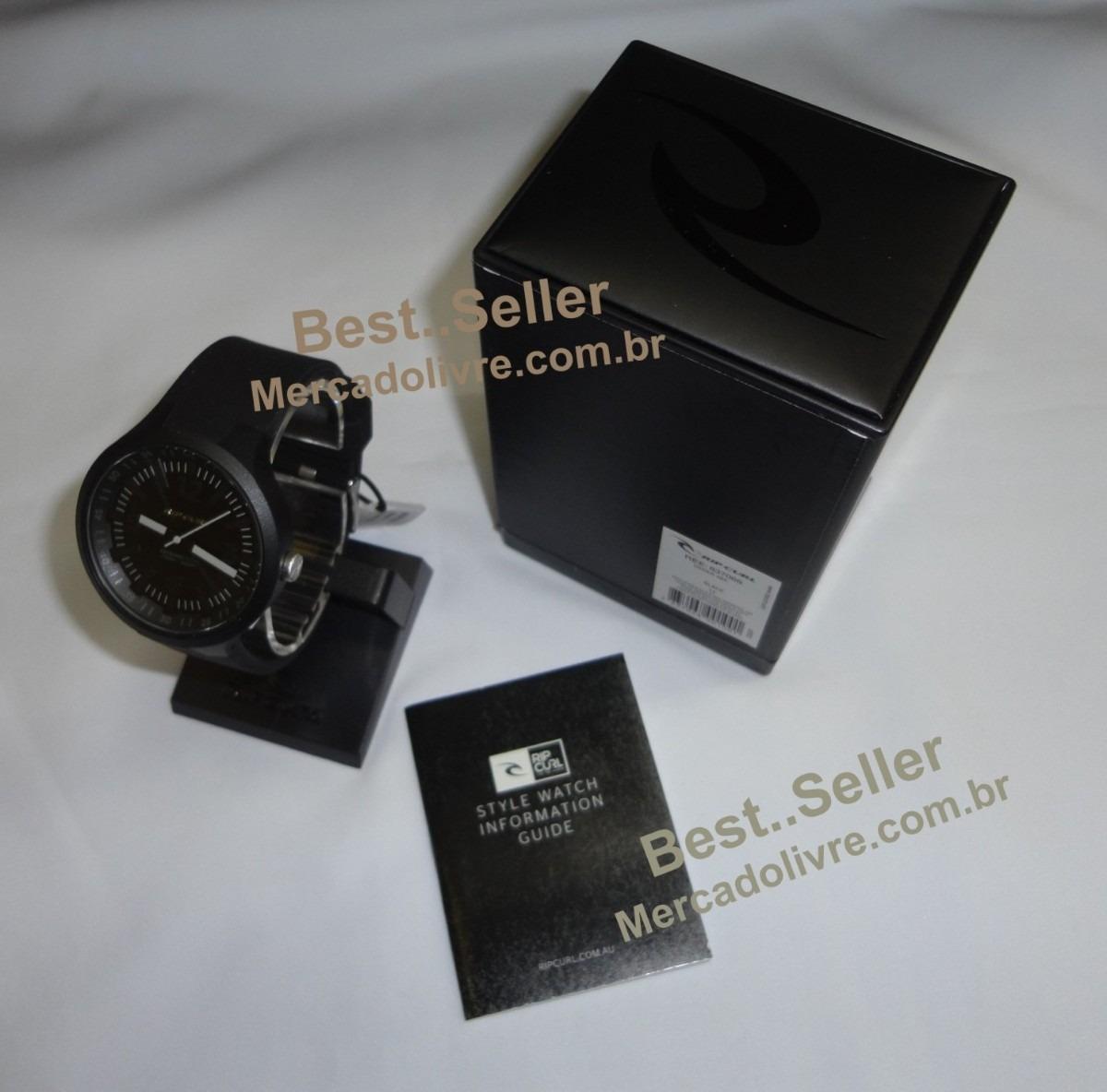 b5233c47491 Relógio Rip Curl Driver Black - Coleção Pivot - R  480