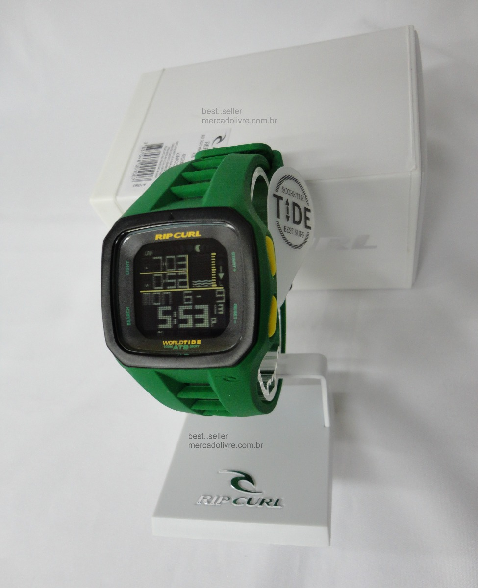 efa7598fb16 Relógio Rip Curl Trestles Pro Green Medina Verde - R  920