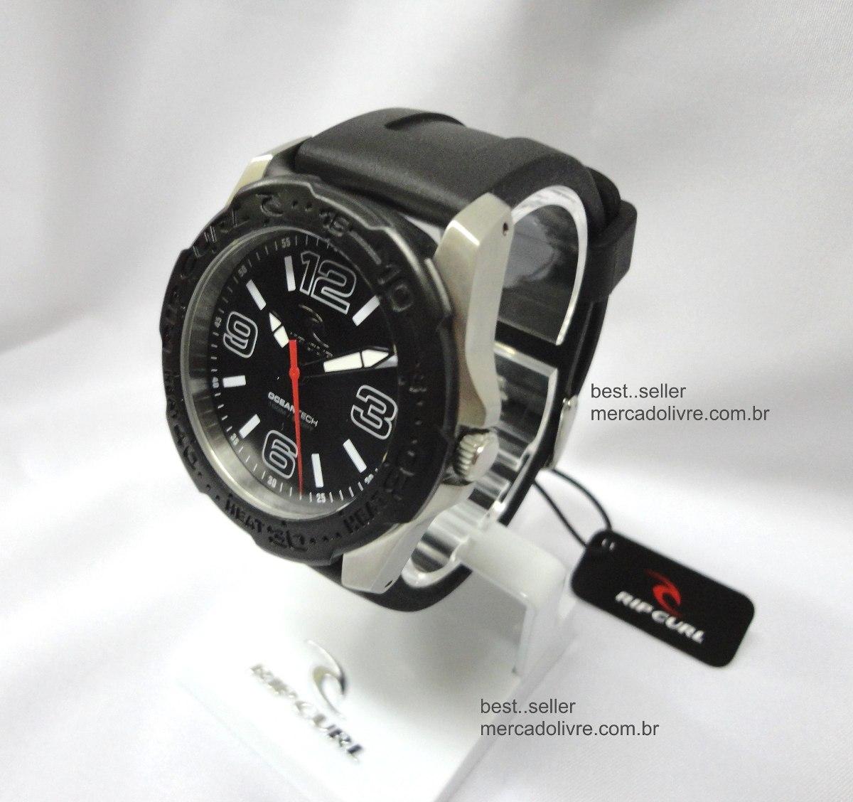 6c8101686b1 Relógio Rip Curl Tubes Black Preto - Coleção Pivot - R  529
