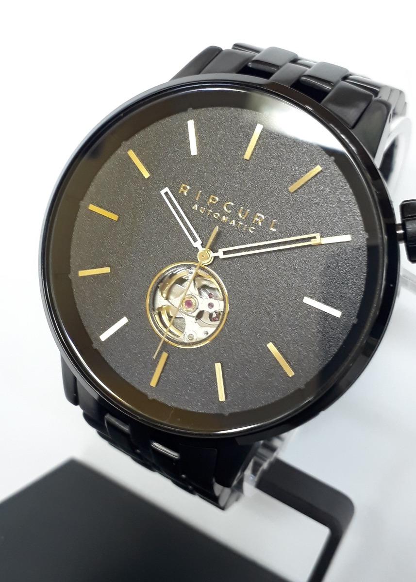 7810d19047f relógio rip curl detroit automatic a3114 a328 midnight gold. Carregando zoom .