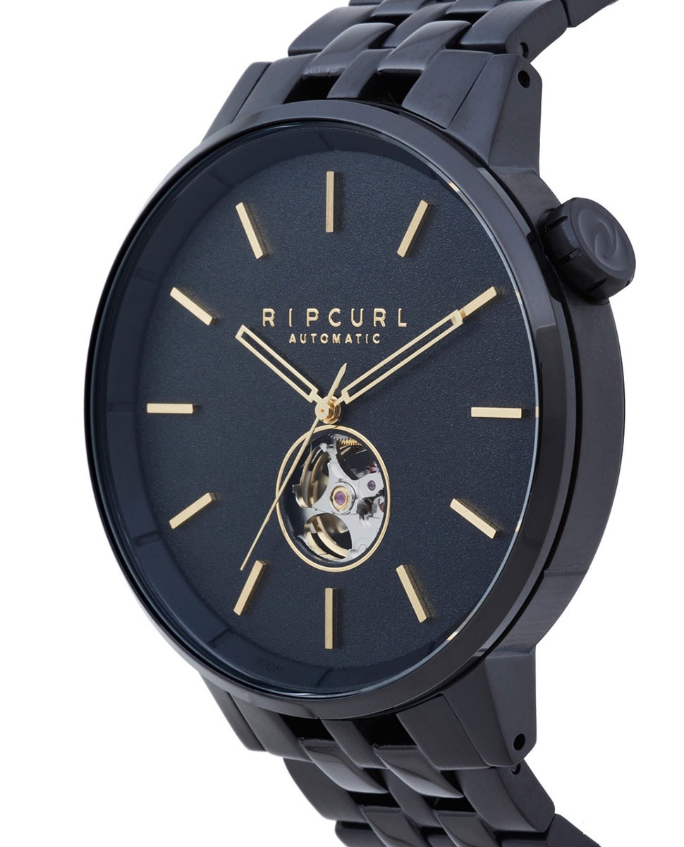 6b25bbbe1bb relógio rip curl detroit automatic a3114 a328 midnight gold. Carregando zoom .