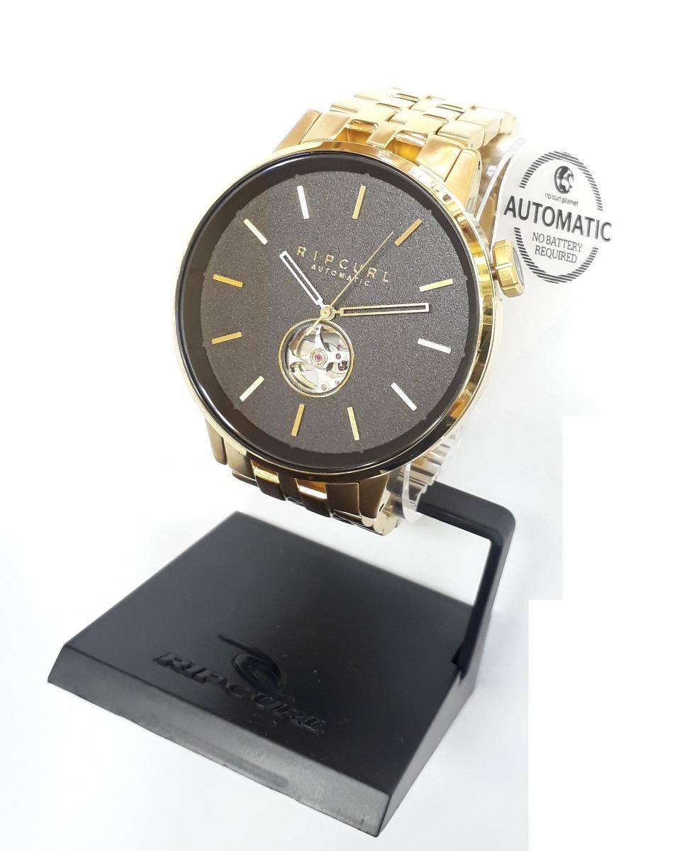 43e6924bf56 relógio rip curl detroit automatic gold a3102 dourado ouro. Carregando zoom.