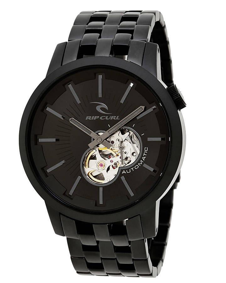 0864fc477a314 relógio rip curl detroit automatic midnight black preto 2507. Carregando  zoom.
