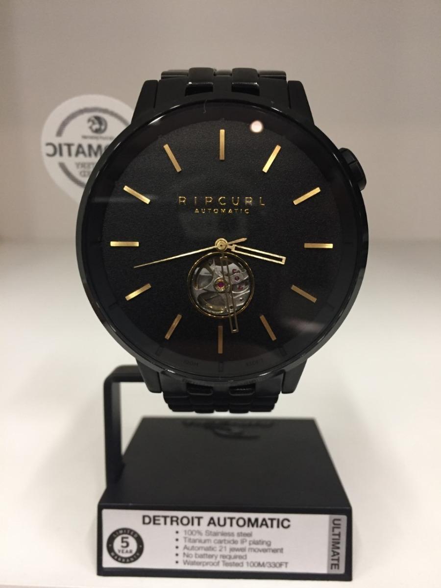 f2241576b892d relógio rip curl detroit sss automatic black original com nf. Carregando  zoom.