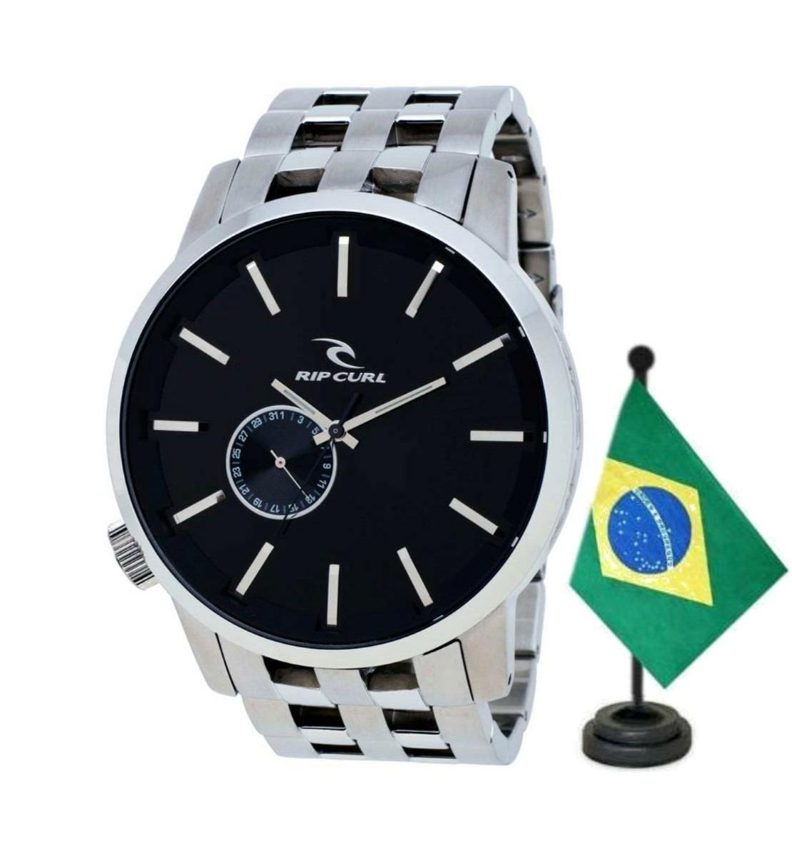 836f0c352e8 Relógio Rip Curl Detroit Steel Black Sss - Frete Grátis - R  1.399 ...