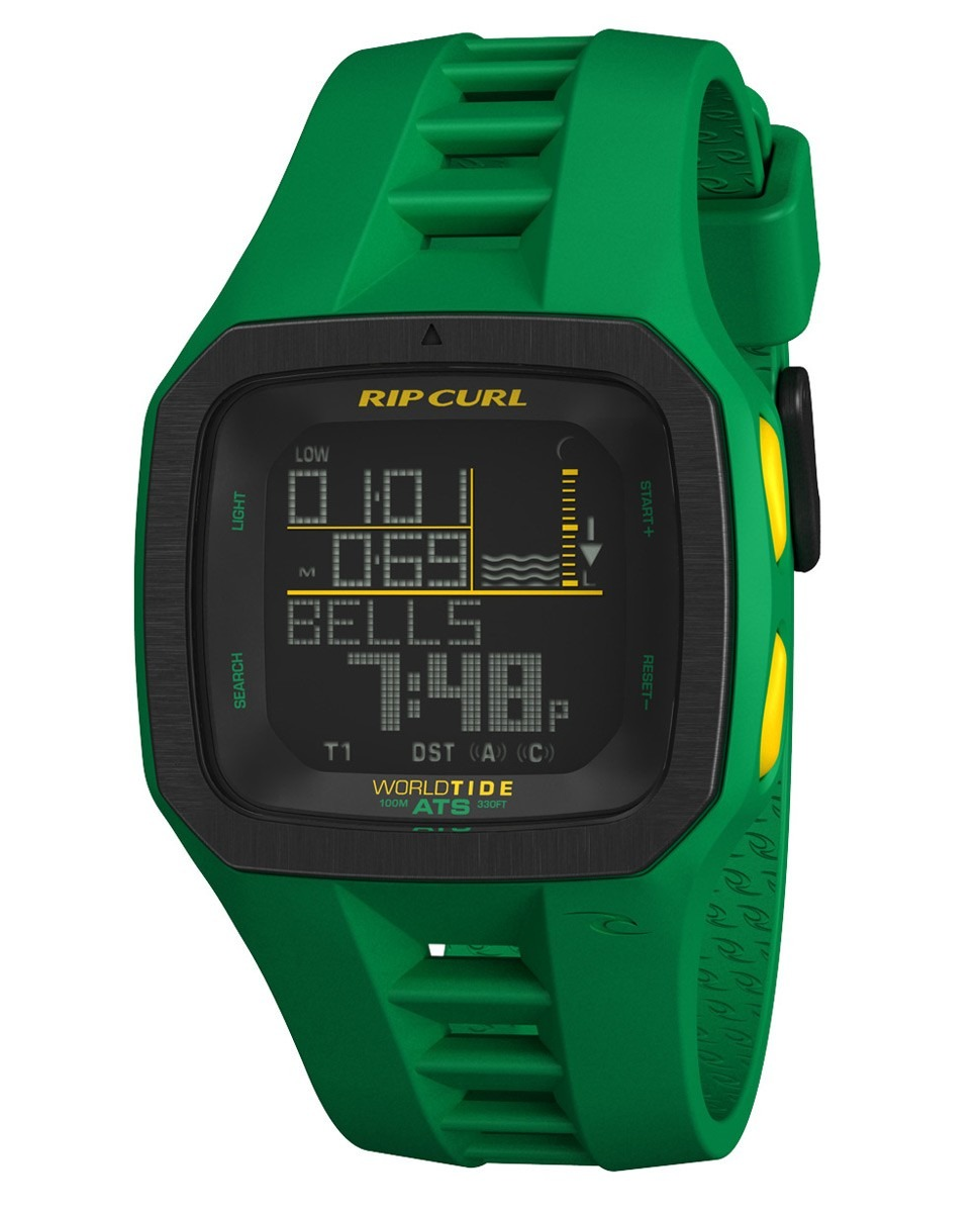 f6066a8ec10 relógio rip curl trestles pro green medina verde. Carregando zoom.