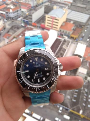 relógio rlx deep sea - frete grátis