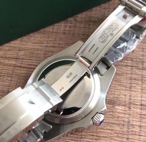 relógio rlx e.x.p.l.o.r.e.r , acabamento premium,automático