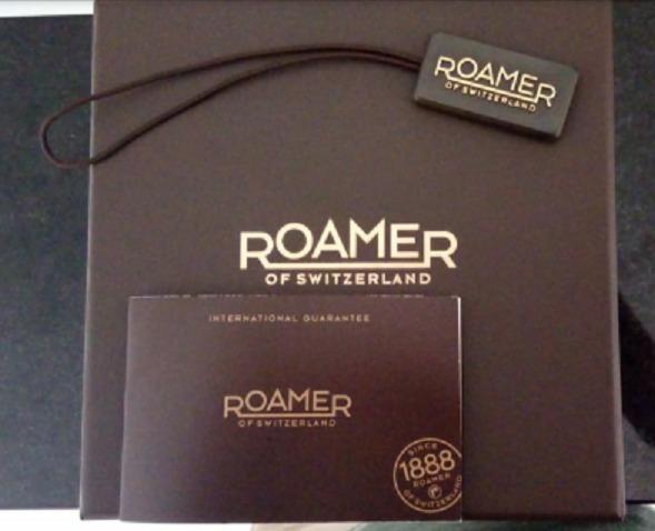 d90c3a78013 Relógio Roamer Superior Original Suiço Frete Grátis - R  720