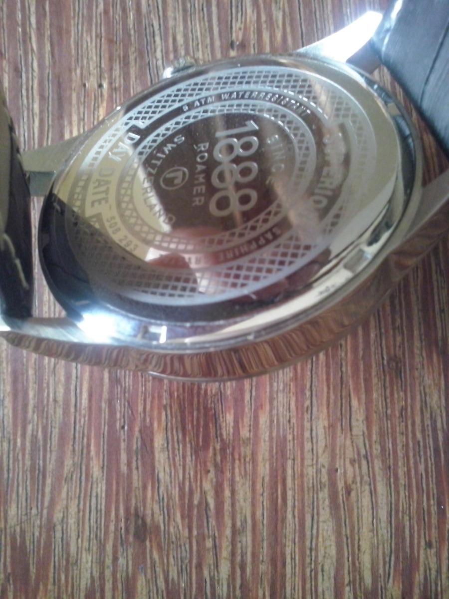 ae3c97e876f relógio roamer superior original suiço frete grátis. Carregando zoom.