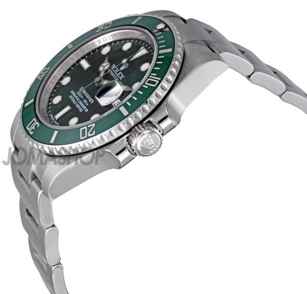 122485eeb08 Relogio Rolex 116610lv Submariner Green Dial Original Novo - R ...