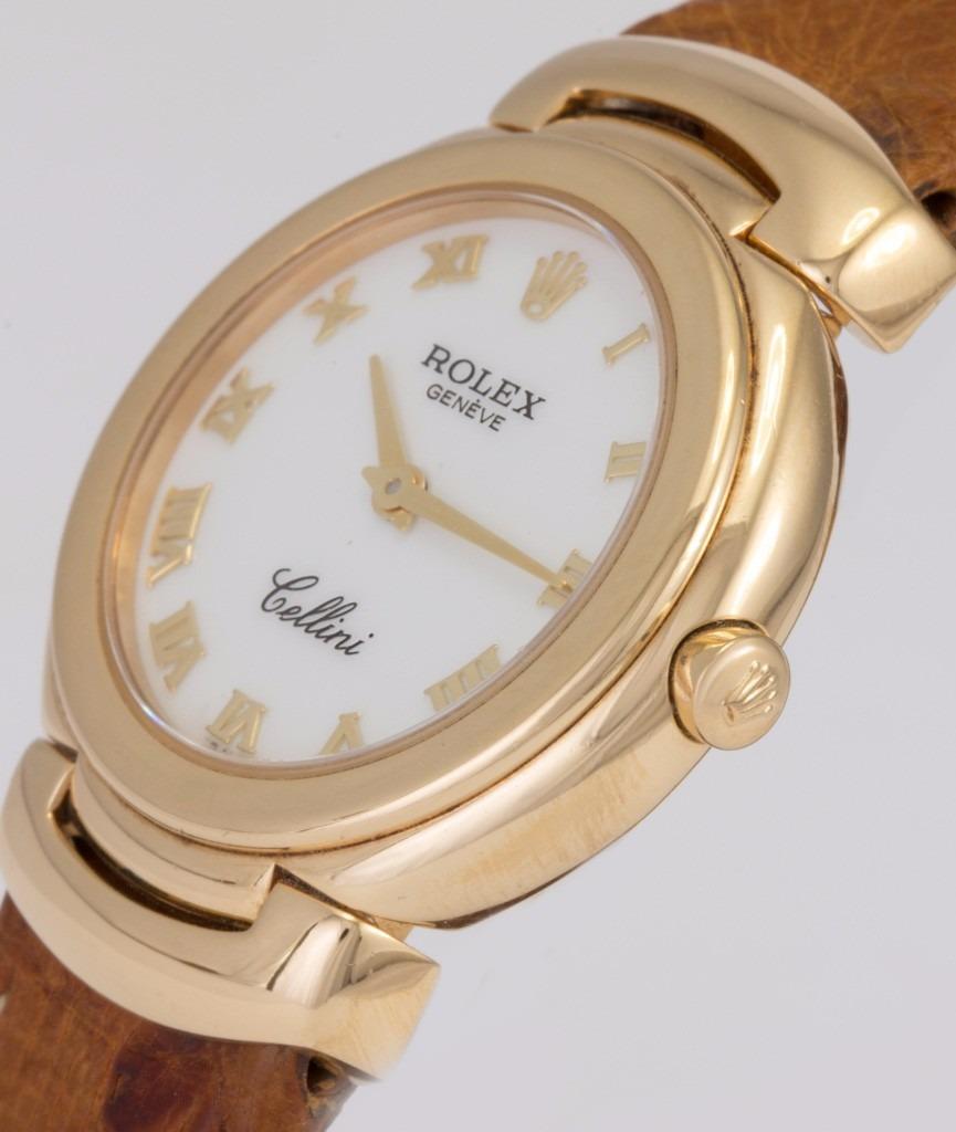 31e811d72b7 relógio rolex cellini em ouro 18k feminino. Carregando zoom.