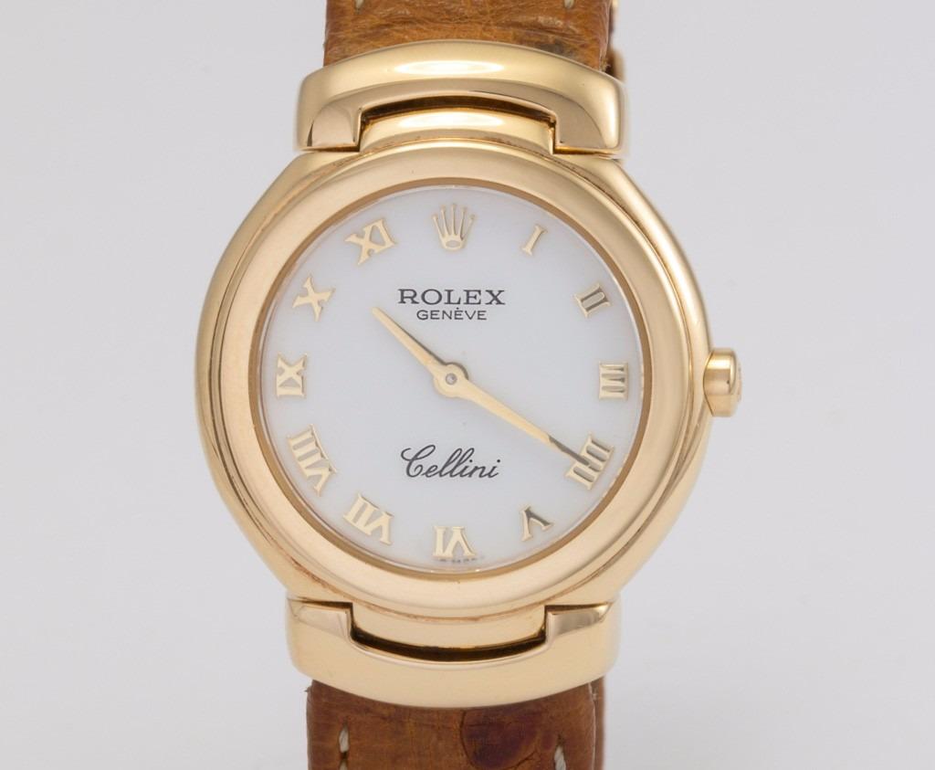 41320e732cd relógio rolex cellini em ouro 18k feminino. Carregando zoom.