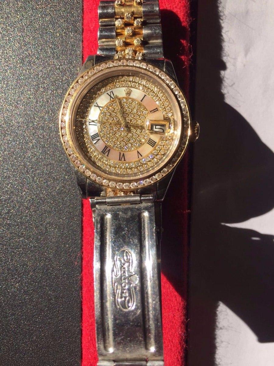 e9fc0d9a0e5 relógio rolex date just diamante. Carregando zoom.