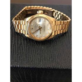 Relógio Rolex Date Just Ladies Ouro 18k/brilhantes Original
