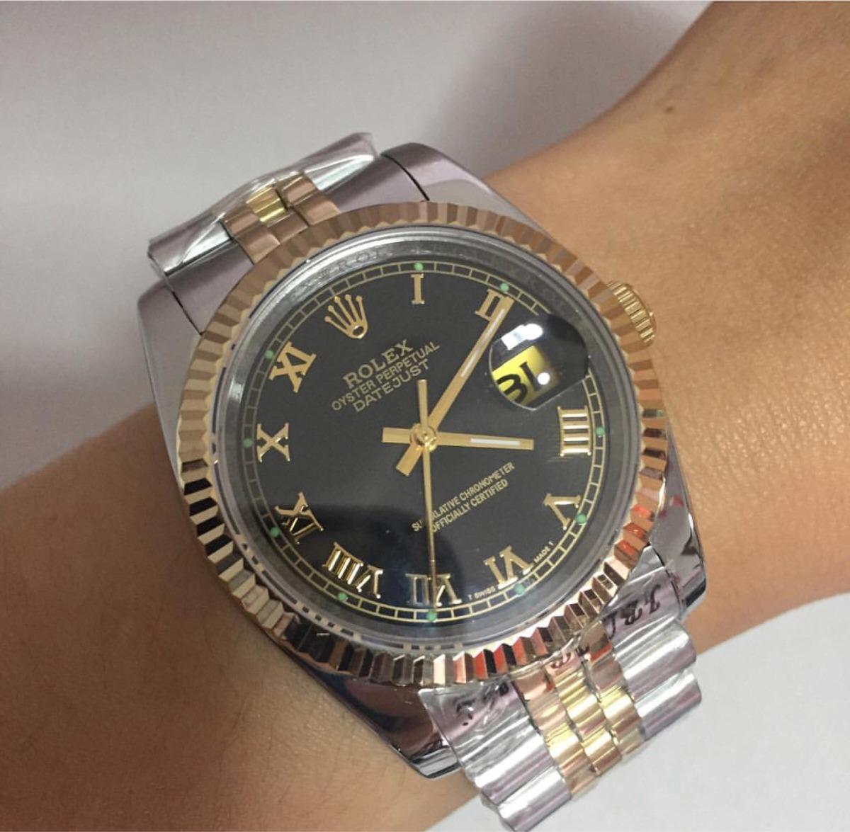 0b89e51b531 relógio rolex datejust feminino 38mm com pulseira jubilau. Carregando zoom.