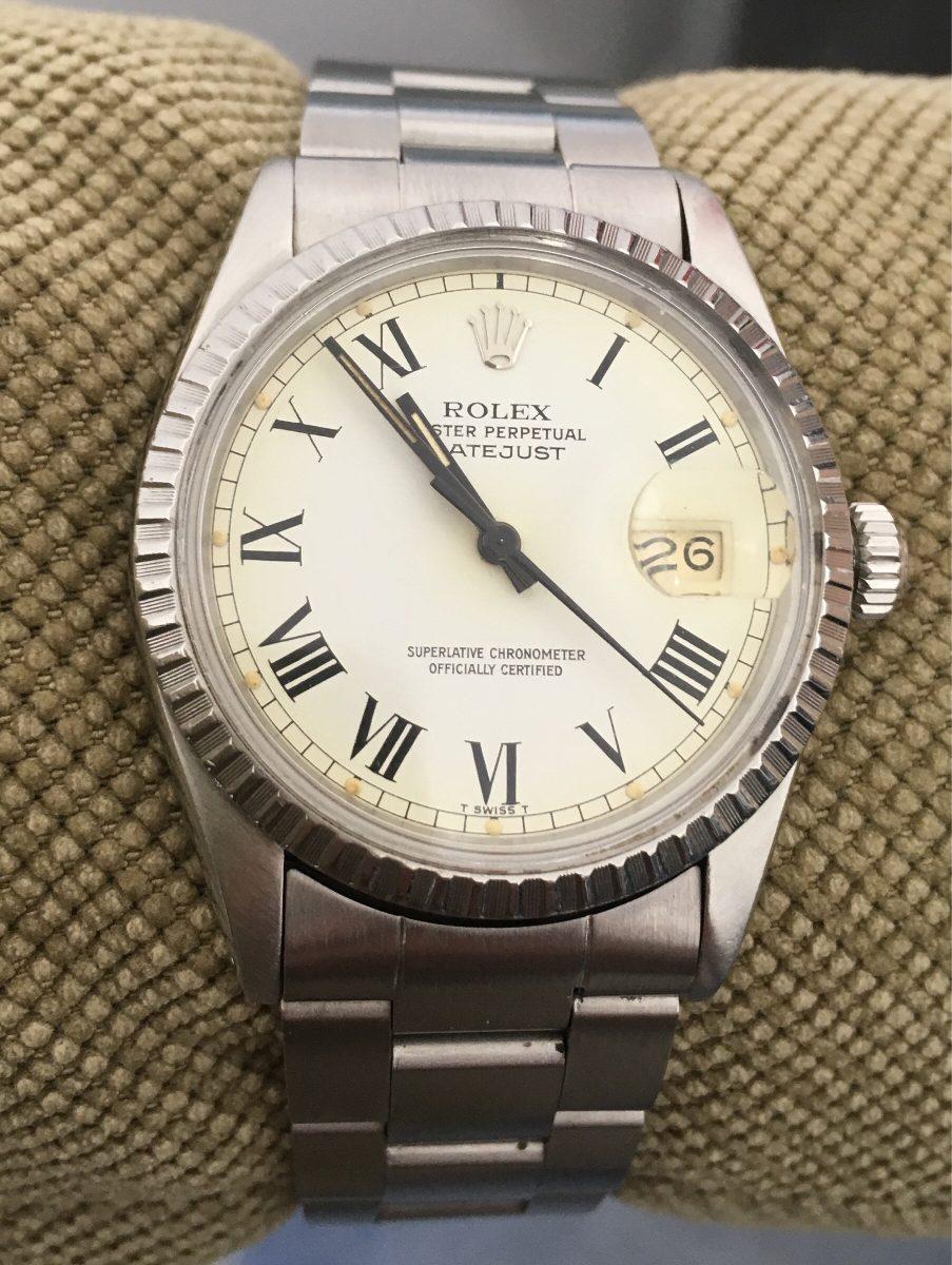 e05f56caefb relógio rolex datejust vintage 16030. Carregando zoom.