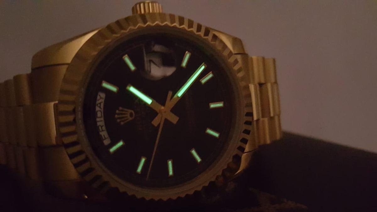 d8d948c0550 relógio rolex day date presidencial. Carregando zoom.