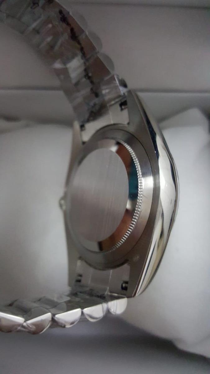 60ffb7361d6 relógio rolex day date preto. Carregando zoom.