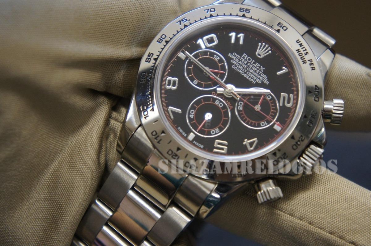 69b8911d756 relogio rolex daytona arabc dial eta (usado). Carregando zoom.