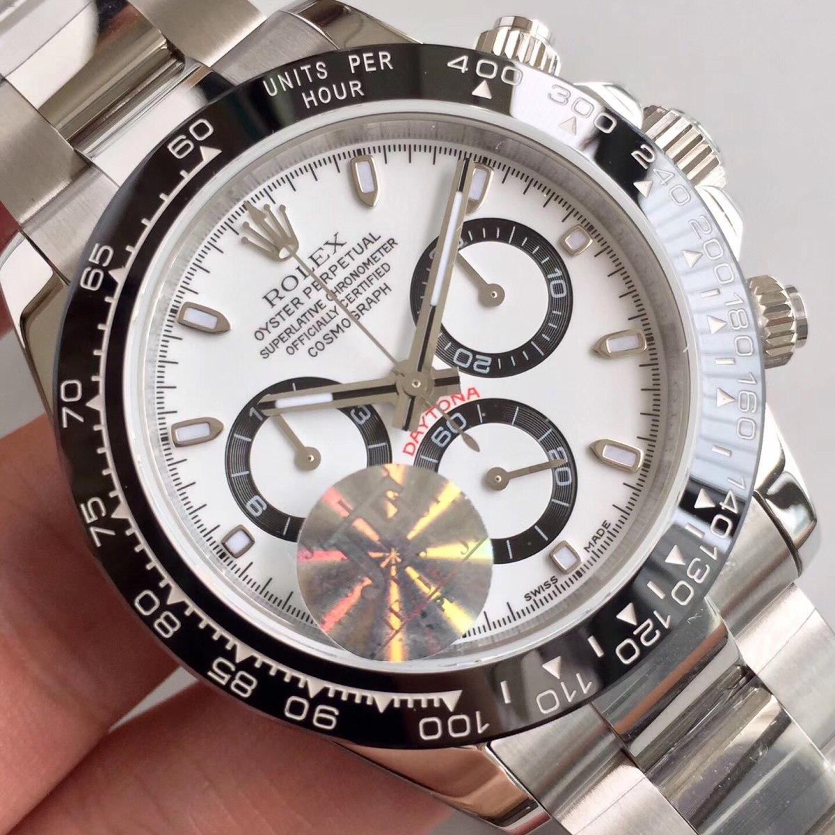 3282222f2e3 relógio rolex daytona cerâmica maquina eta 7750. Carregando zoom.