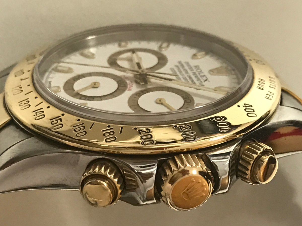 b4f4da0cfb7 relógio rolex daytona ouro e aço. Carregando zoom.