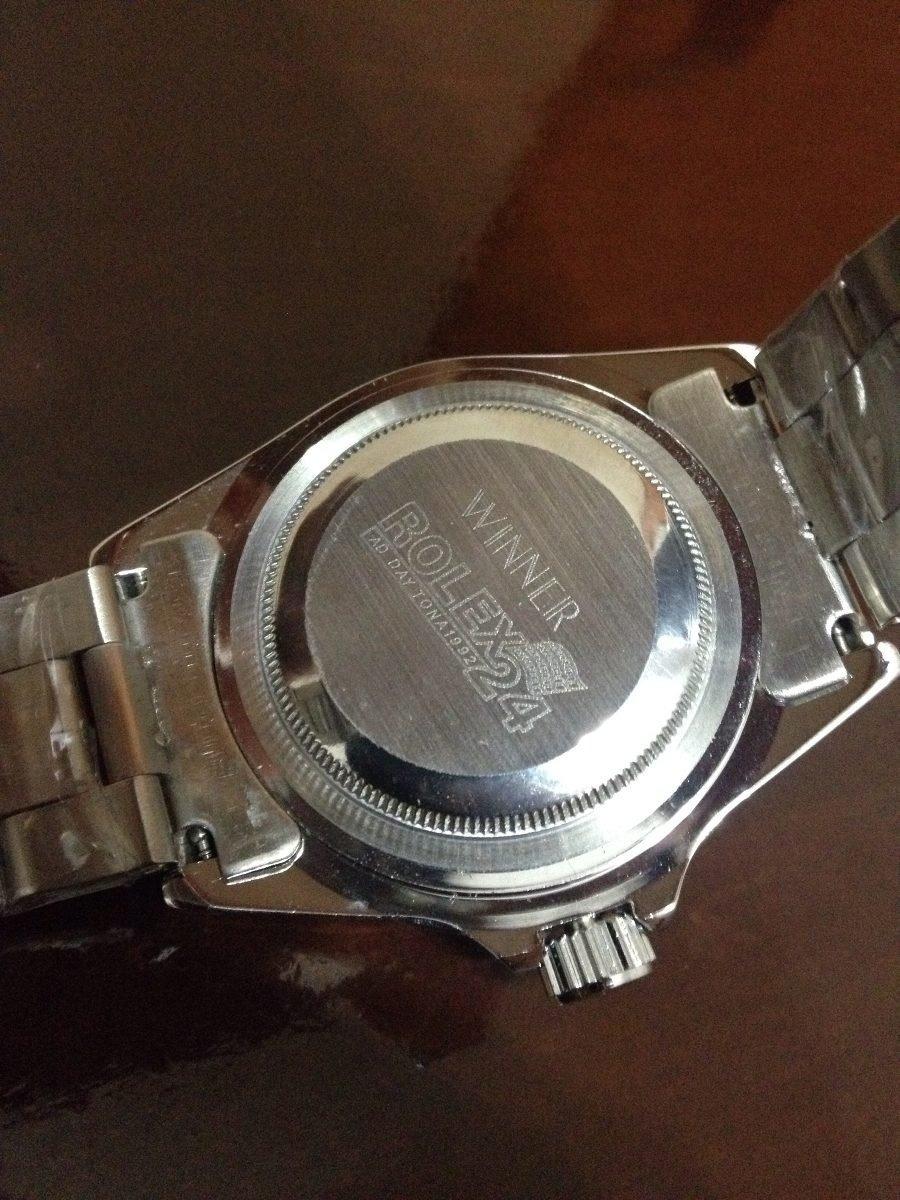 ad143db82c4 relogio rolex daytona silver luxo. Carregando zoom.