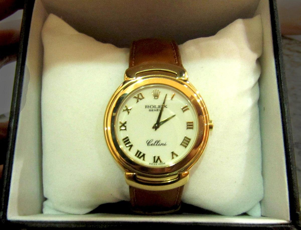 7c63177b76f relógio rolex de ouro 18k cellini. Carregando zoom.