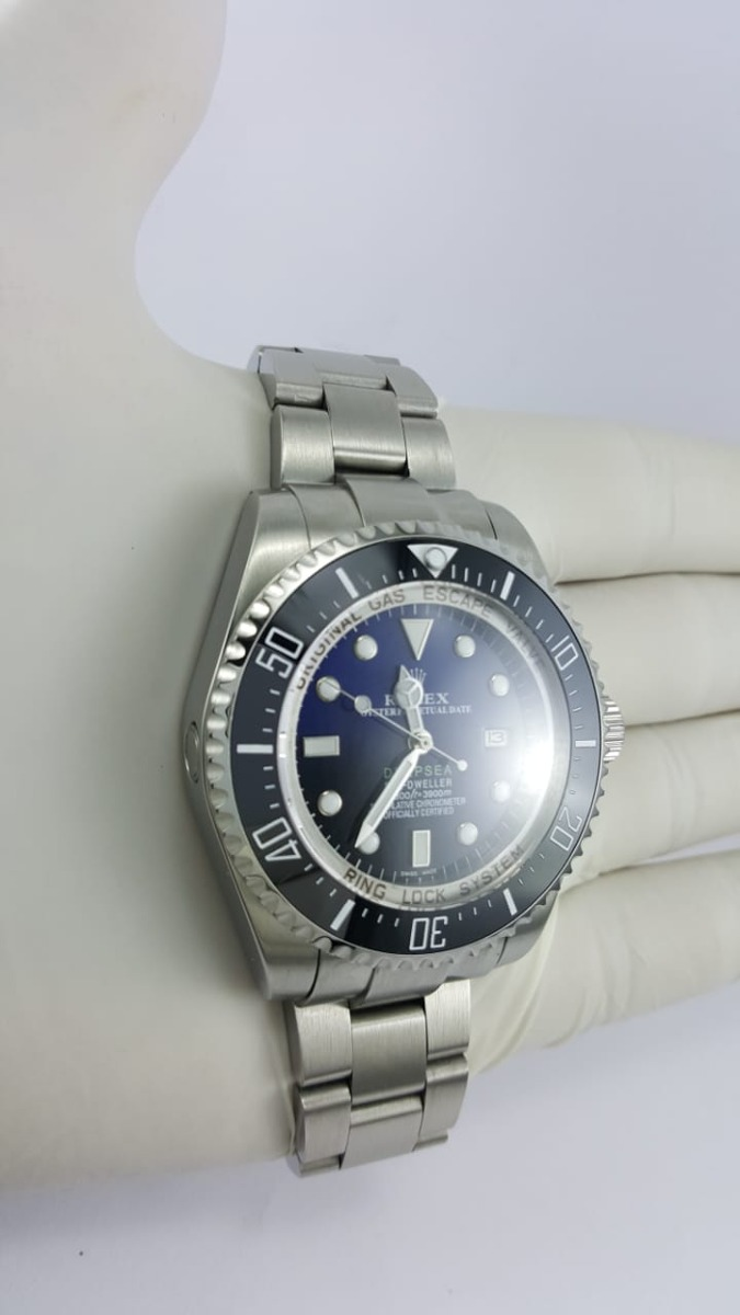 4db6ec07f8c relógio rolex deepsea azul misto. Carregando zoom.