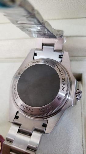 relógio rolex deepsea gas escape automático a prova d'água