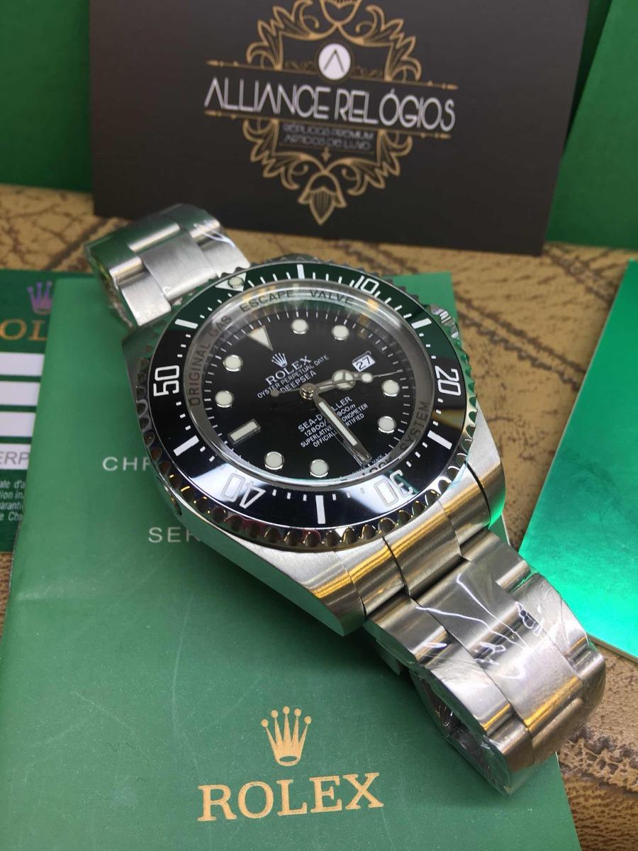 291d0086d85 relógio rolex deepsea sea-dweller acabamento eta suíço. Carregando zoom.