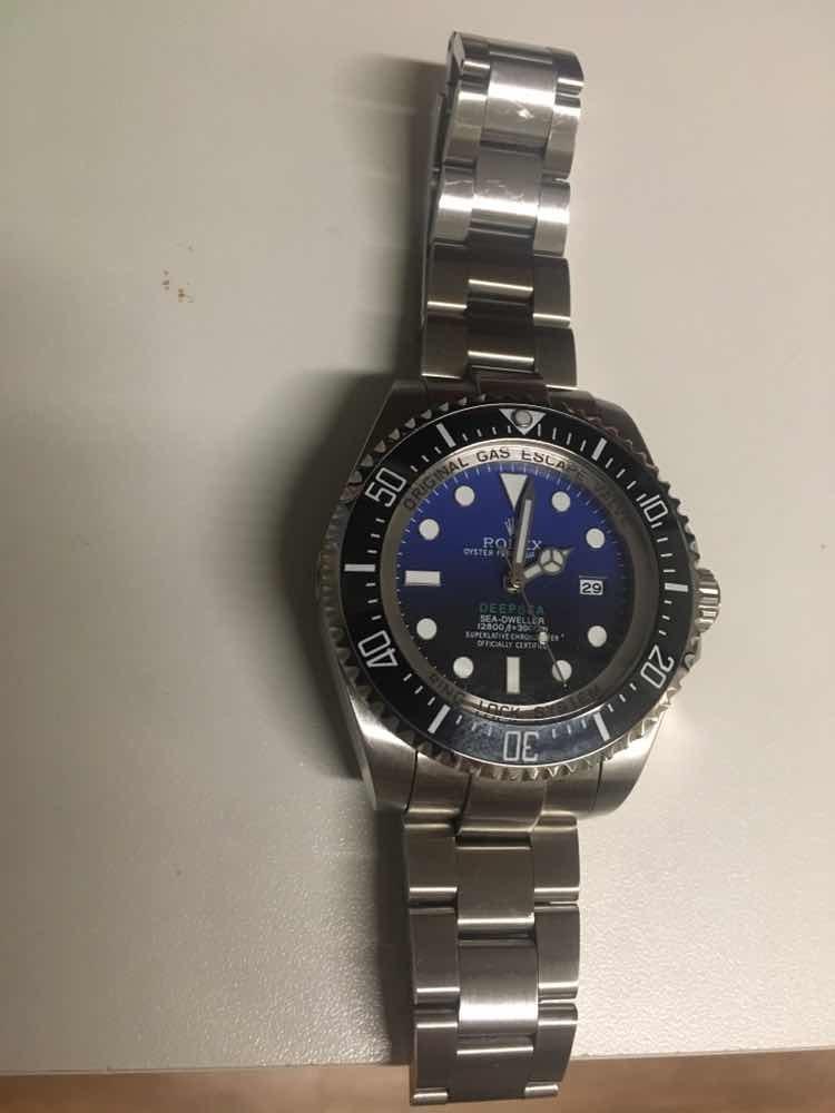 239cce9f1a8 relógio rolex deepsea - see-dweller - réplica. Carregando zoom.