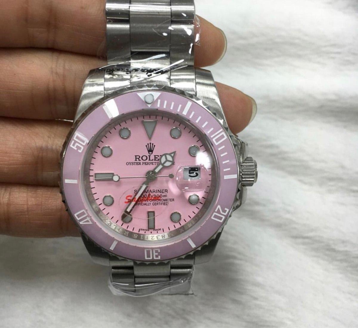 c569e355246 Relogio Rolex Feminino Máquina Eta Com Caixa Original - R  3.499