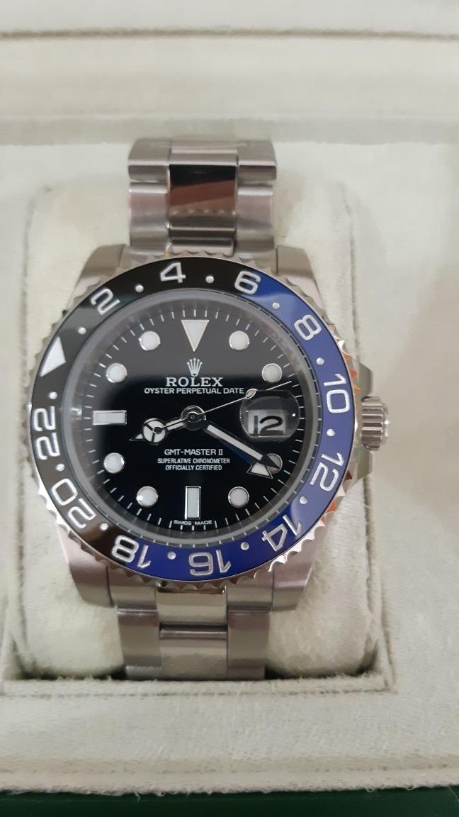 f26e37d1818 Relógio Rolex Gmt-master Ii A p Automático A Prova D água. - R ...