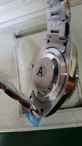 relógio rolex gmt-master ii automático v/a a prova d'água.