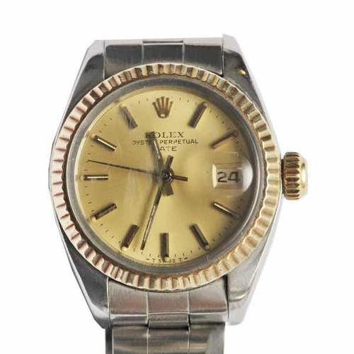 relógio rolex lady oyster perpetual date
