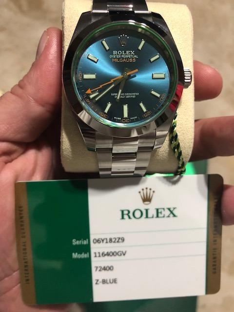 e1020085b37 Relógio Rolex Milgauss 40mm - Original Nunca Usado - R  33.500