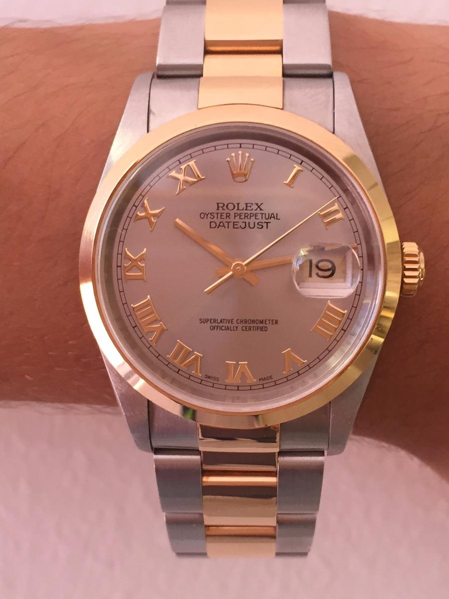 4af86e57127 relógio rolex ouro e aço. Carregando zoom.
