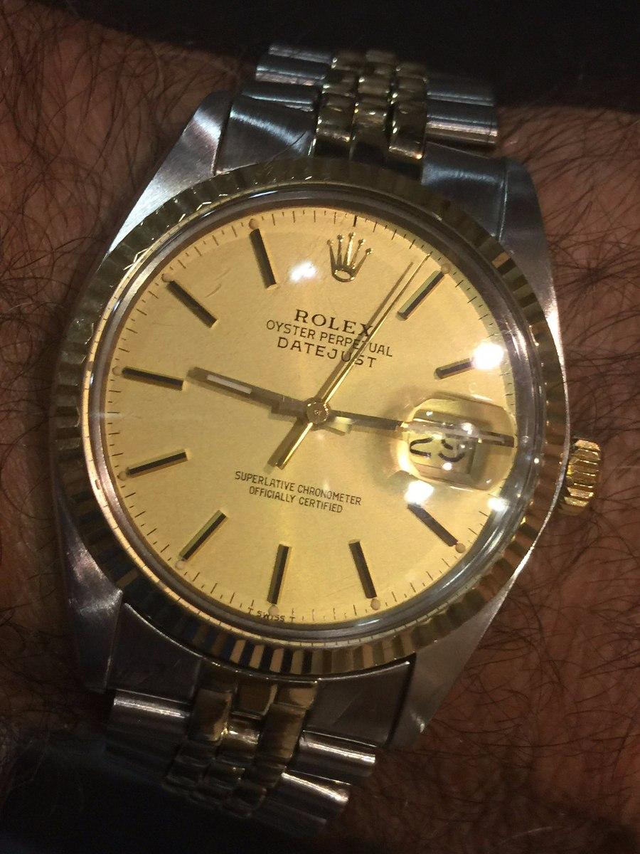 f22af64d5cb relógio rolex ouro e aço. Carregando zoom.
