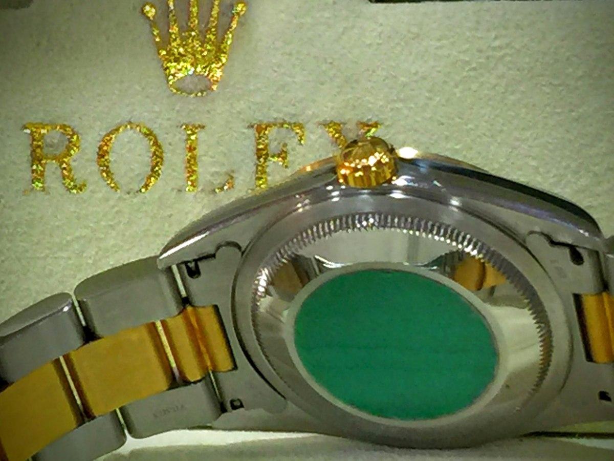 2bb021e07f6 Relógio Rolex Ouro E Aço - R  14.800