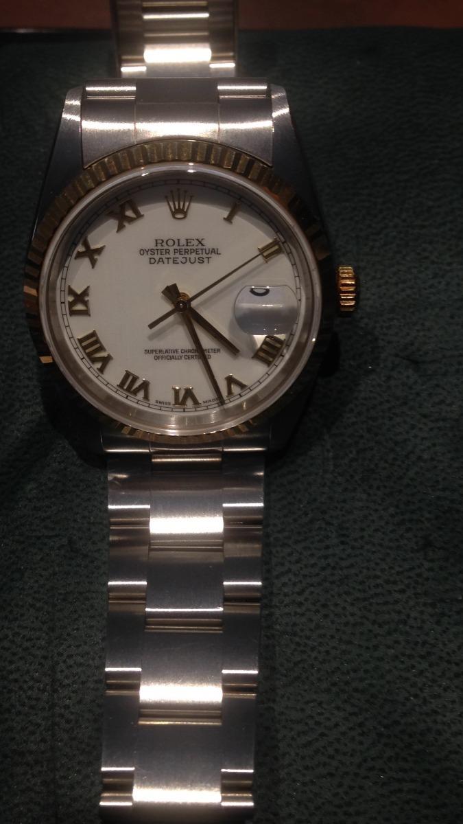 45b4b78ded9 Relogio Rolex Oyster Perpetual Original Certificado - R  16.890