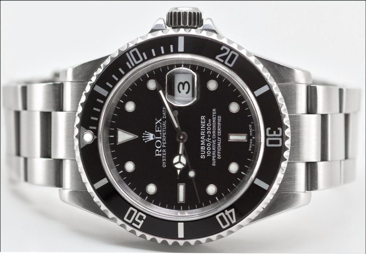 820f658c3d6 relógio rolex submariner fundo preto azul verde. Carregando zoom.