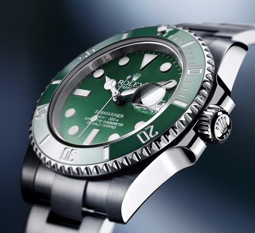 1e6831c0d90 Relógio Rolex Submariner Fundo Preto verde - R  54.999