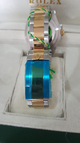 relógio rolex submariner prata automático a prova d'água