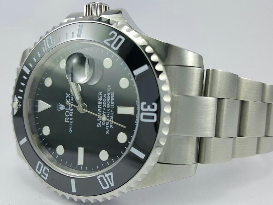 3a6c9e26f4e relógio rolex submariner preto. Carregando zoom.
