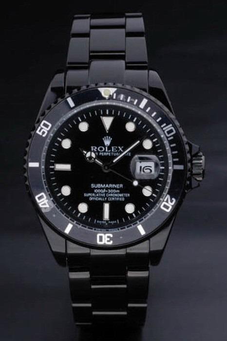 aadf9e18b89 Relogio Rolex Submariner Preto - A Pronta Entrega - R  509