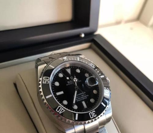 relógio rolex submariner primeira linha