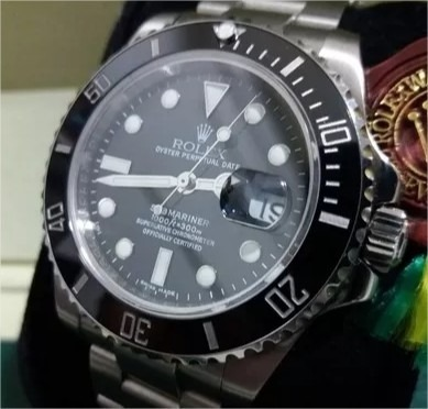 a0ba516e260 Relogio Rolex Submariner Tradicional  frete Gratis  - R  149