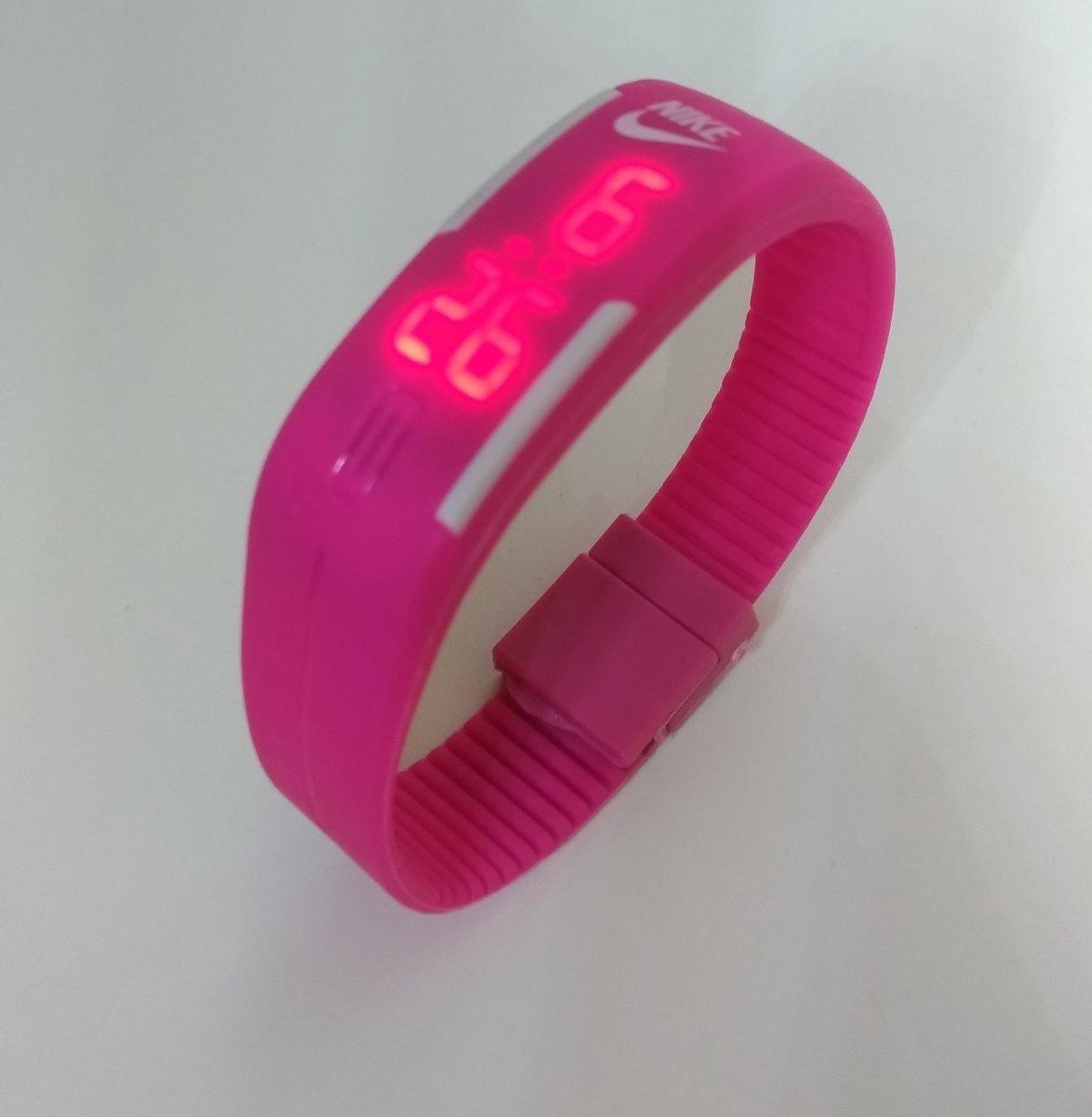 a55f9807634 relógio rosa exercícios unissex feminino barato promoção. Carregando zoom.