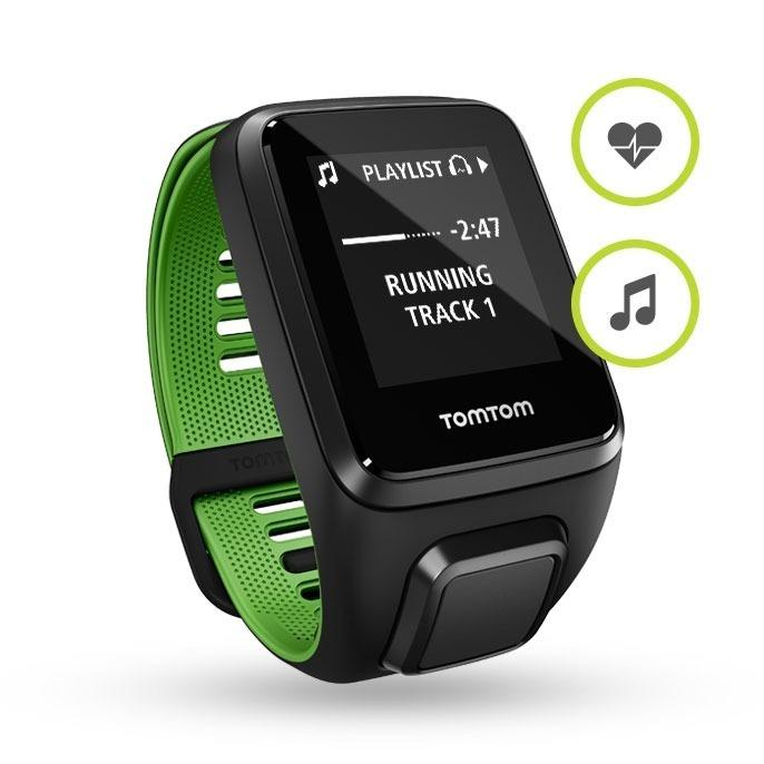 fcdbd95e8b0 Relógio Runner 3 Cardio Music Gps Large Preto - Tomtom - R  1.049